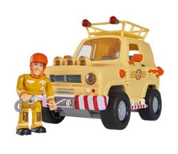 Pojazd / tor i garaż Simba Strażak Sam Jeep ratunkowy