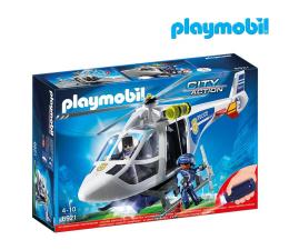 Klocki PLAYMOBIL ® PLAYMOBIL Helikopter policyjny z reflektorem LED