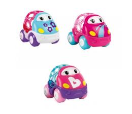 Zabawka dla małych dzieci Dumel Oball Wyścigówka 3-pak Różowy 10784