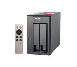 Dysk sieciowy NAS / macierz QNAP TS-251+-2G (2xHDD, 4x2-2.42GHz, 2GB, 4xUSB, 2xLAN)