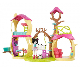 Lalka i akcesoria Mattel Enchantimals Zestaw Leśny Domek