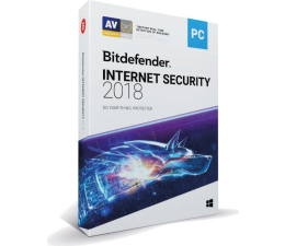 Program antywirusowy Bitdefender Internet Security 2018 karta 5st. (12m.)