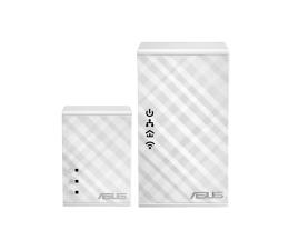 Adapter HomePlug (PLC) ASUS PL-N12 KIT PowerLine LAN+WiFi 300Mb/s