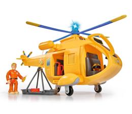 Pojazd / tor i garaż Simba Strażak Sam helikopter Wallaby 2 z figurką