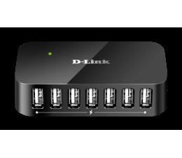 Hub USB D-Link DUB-H7 USB 2.0 (7 portów, aktywny, zasilacz)