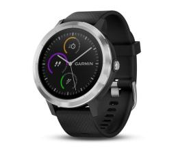 Zegarek sportowy Garmin Vivoactive 3 Srebrny z Czarnym Paskiem