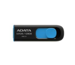 Pendrive (pamięć USB) ADATA 128GB DashDrive UV128 czarno-niebieski (USB 3.1)