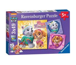 Puzzle dla dzieci Ravensburger Psi Patrol Skye  & Everest  3X49 Elementów