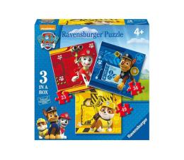Puzzle dla dzieci Ravensburger Psi Patrol 3 w 1