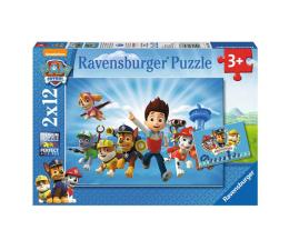 Puzzle dla dzieci Ravensburger Ryder i Psi Patrol 2 X 12