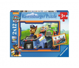 Puzzle dla dzieci Ravensburger Psi Patrol w Akcji 2 X 12