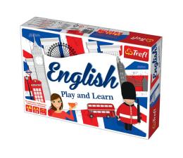 Gra dla małych dzieci Trefl GRA - English: Play and Learn