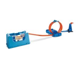 Pojazd / tor i garaż Hot Wheels Zestaw Kaskaderskie pętle niebieskie