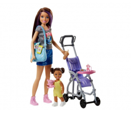 Lalka i akcesoria Barbie Skipper Zestaw Opiekunka z akcesoriami I