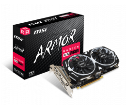 Karta graficzna AMD MSI Radeon RX 570 ARMOR OC 8GB GDDR5