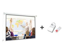 Ekran projekcyjny Avtek Ekran elektryczny 118' 240x180+moduł bezprzewodowy