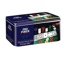 Gra karciana Tactic Pro Poker Texas Hold'em set puszka