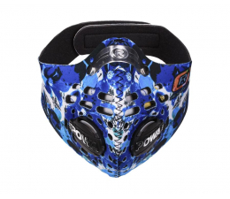 Maska antysmogowa Respro Skin Petal Blue XL