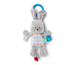 Zabawka dla małych dzieci Bright Starts Zawieszka Pluszak z Metkami Króliczek 11137