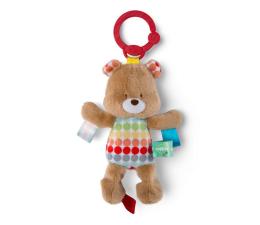 Zabawka dla małych dzieci Bright Starts Zawieszka Pluszak z Metkami Miś 11137