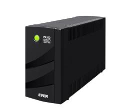 Zasilacz awaryjny (UPS) Ever DUO 850 AVR (850VA/550W, 6xIEC, USB, AVR)