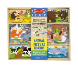 Zabawka drewniana Melissa & Doug Deseczki ze zwierzątkami