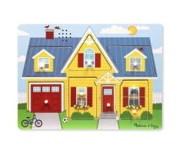 Zabawka drewniana Melissa & Doug Puzzle z dźwiękiem - Wokół domu