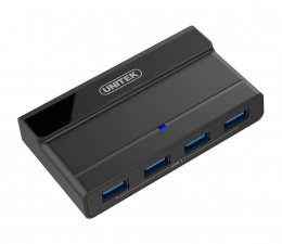 Hub USB Unitek HUB USB 4 x USB 3.1 z zasilaczem