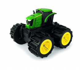Pojazd / tor i garaż TOMY John Deere Traktor Mega Opony Mini 46711