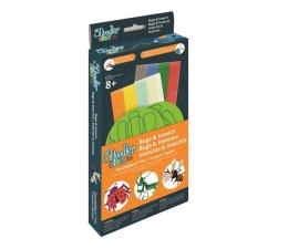 Zabawka plastyczna / kreatywna TM Toys 3Doodler zestaw szablonów robaki DODDBKIB