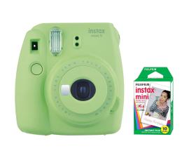 Aparat natychmiastowy Fujifilm Instax Mini 9 zielony + wkład 10 zdjęć