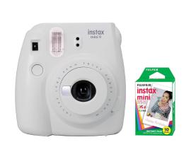 Aparat natychmiastowy Fujifilm Instax Mini 9 biały + wkład 10 zdjęć