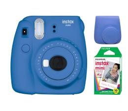 Aparat natychmiastowy Fujifilm Instax Mini 9 ciemno-niebieski + 10PK + pokrowiec