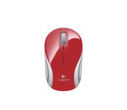 Myszka bezprzewodowa Logitech M187 Mini czerwona