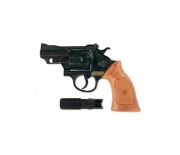 Zabawka militarna Sohni-Wicke Agent rewolwer Bonny z tłumikiem, 12 strzałów