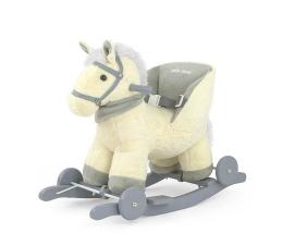 Leżaczek / bujaczek MILLY MALLY Koń na biegunach Polly beżowy