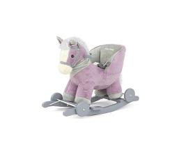 Leżaczek / bujaczek MILLY MALLY Koń na biegunach Polly fioletowy