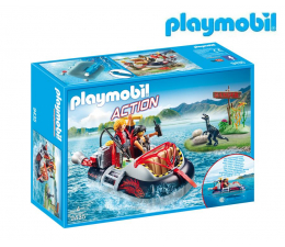 Klocki PLAYMOBIL ® PLAYMOBIL Poduszkowiec z silnikiem podwodnym