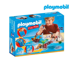 Klocki PLAYMOBIL ® PLAYMOBIL Play Map Piraci