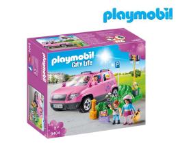 Klocki PLAYMOBIL ® PLAYMOBIL Samochód rodzinny z zatoczką parkingową