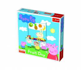 Gra planszowa / logiczna Trefl Owocowy dzień Świnki Peppy