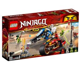 Klocki LEGO® LEGO Ninjago Motocykl Kaia i skuter Zane'a
