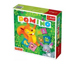 Gra dla małych dzieci Trefl Domino ilustrowane