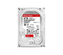 Dysk HDD WD 8TB 256MB Red NAS