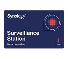 Licencja / gwarancja do NAS Synology Licencja Camera License Pack (4 dodatkowe kamery)