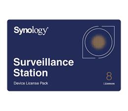 Licencja / gwarancja do NAS Synology Licencja Camera License Pack (8 dodatkowych kamer)