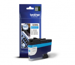 Tusz do drukarki Brother LC3239XLC h-yield cyan 5000str.