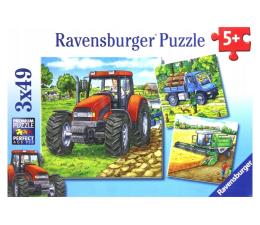 Puzzle dla dzieci Ravensburger Maszyny na farmie