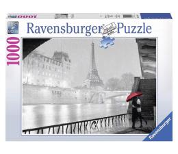 Puzzle 1000 - 1500 elementów Ravensburger Paryż nocą