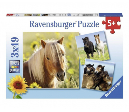 Puzzle do 500 elementów Ravensburger Kochane Konie